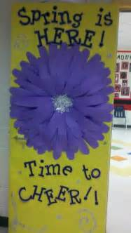 spring classroom door door bulletin board ideas