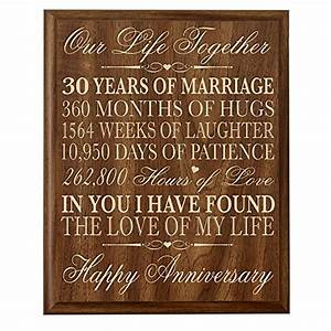 30th anniversary gift ideas couple parents 30 year With 30 year wedding anniversary gifts