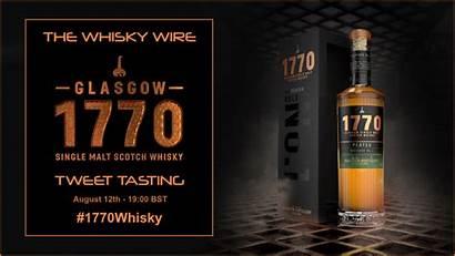 Glasgow Whisky Tasting 1770 Tweet