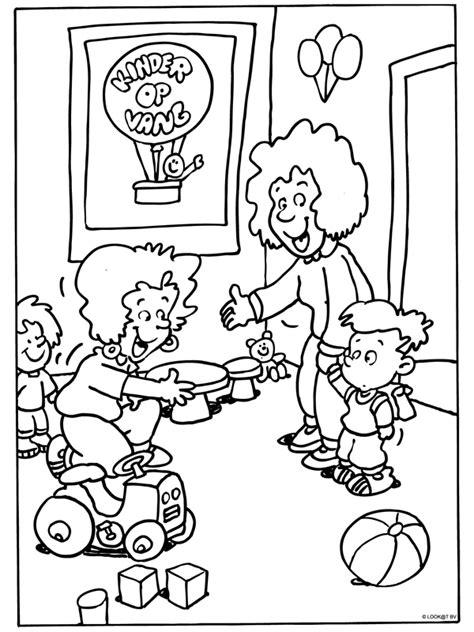 Welkom In Groep 3 Kleurplaat Zoem by Welkom Bij De Kinderopvang