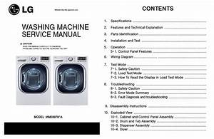 Lg Wm3997hwa Wm3997hva Washer Dryer Combo Service Manual
