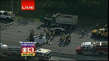 fatal accident shuts  part   cbs baltimore
