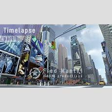 Modeling Times Square New York Manhattan In Blender  Timelapse Youtube