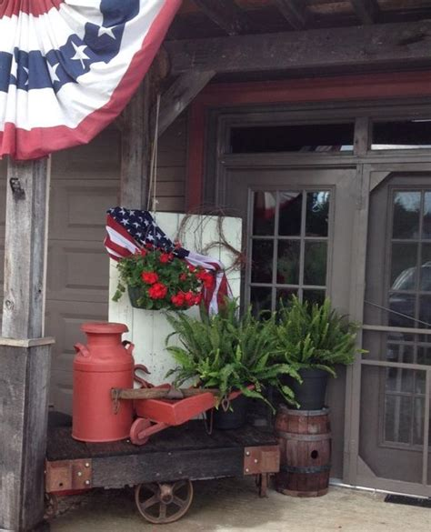 Top 17 Easy Patriotic Garden Designs Unique July 4th