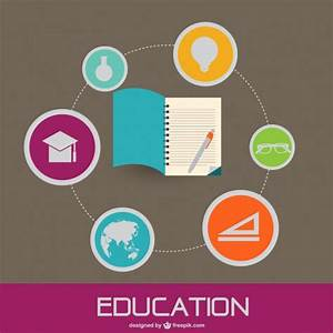Education concept flat vector image Vector | Free Download