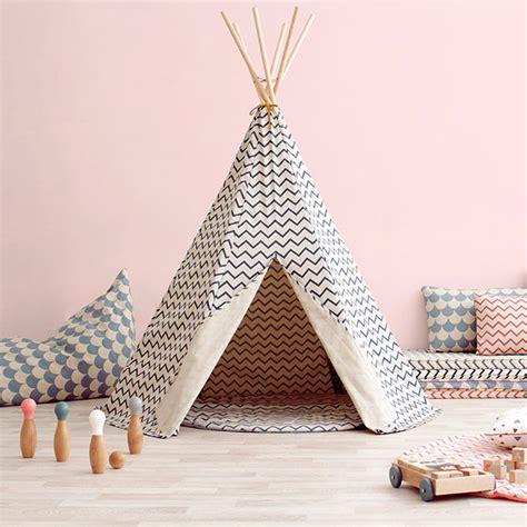 tenda cameretta bambini tenda gioco bambino arizona zigzag nobodinoz shop