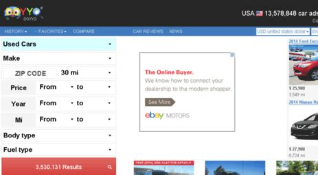 Visit Ooyyo.pt - Used Cars, New cars, Used vehicles, Cars for sale, Car finder - OOYYO.