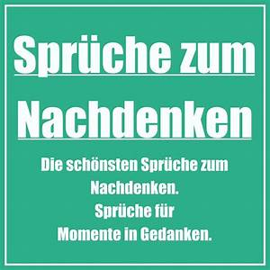 Traurige Bilder Zum Nachdenken : spr che zum nachdenken einfach ~ Frokenaadalensverden.com Haus und Dekorationen