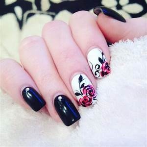 Best rose nail art ideas on