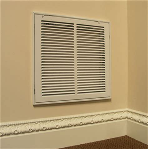 decorative return air grilles with filter wood filter grille assembly