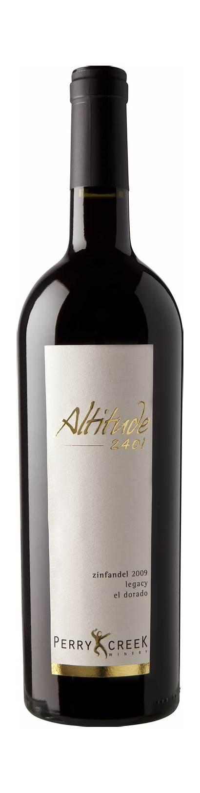 Perry Creek Altitude Winery Zinfandel Wine 2401