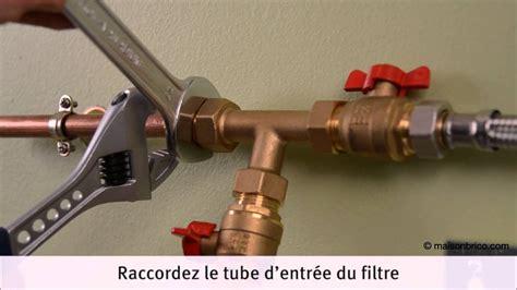 Filtre Eau Anti Calcaire poser un filtre adoucisseur d eau youtube