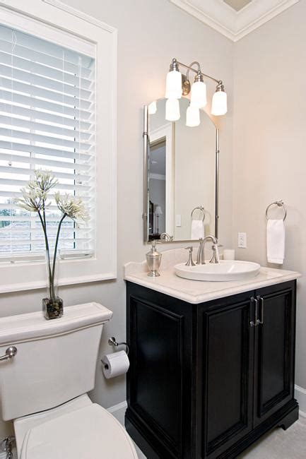 neutral colors  vibrant accents small bathroom