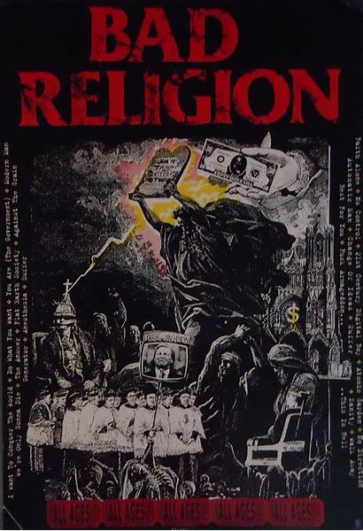 Religion Posters Bad Poster Ages Band Tattoo