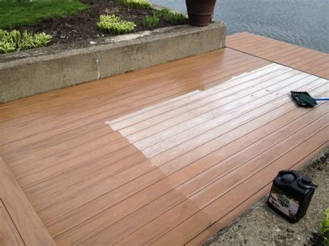 xtreme composite decking pvc sealer treatment
