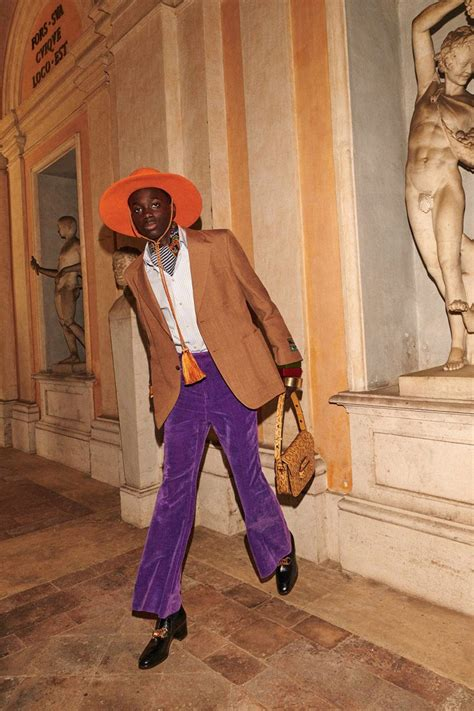 lookbook gucci cruise menswear collection