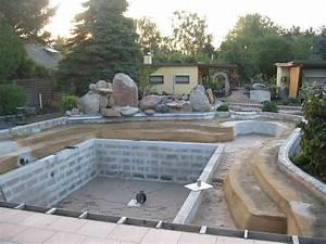 étanchéité Terrasse Goudron : naturschwimmteich selber bauen etancheite toit terrasse ~ Melissatoandfro.com Idées de Décoration
