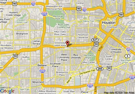 map of residence inn houston west university houston