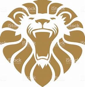 Lion Head Stock Illustration - Download Image Now