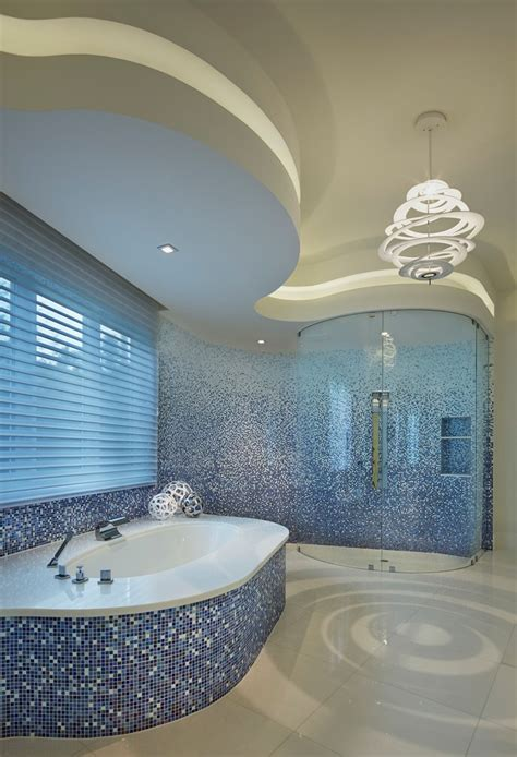 beauty  luxury ocean inspired bathroom  latest