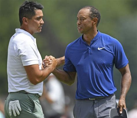 Ian Poulter leads, Tiger Woods shoots 66 in first round of ...