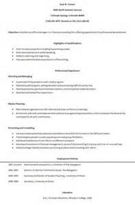 human biology degree resume biology human functional resume outline