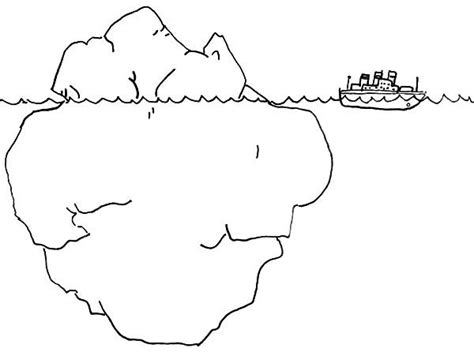 anger iceberg coloring page understand   driving