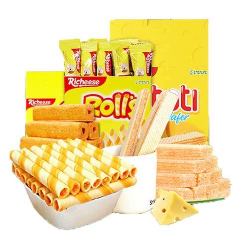 Richeese Ahh Cheese 5 5 Gr nabati richeese rolls wafer cheese ahh shopee