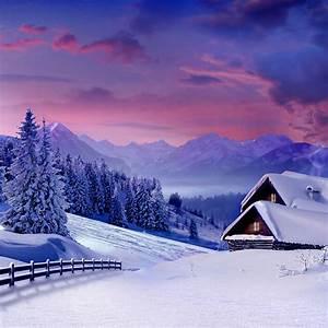 25 Winter iPad Wallpapers