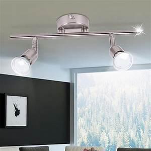 Decken Led Spots : led decken leuchte spot balken wohn zimmer beleuchtung flur lampe beweglich brilliant g28813 13 ~ One.caynefoto.club Haus und Dekorationen