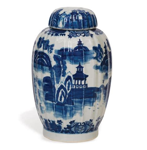 blue  white ginger jars felcom