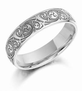 so beautiful and precious white gold celtic wedding rings With whitegold wedding rings