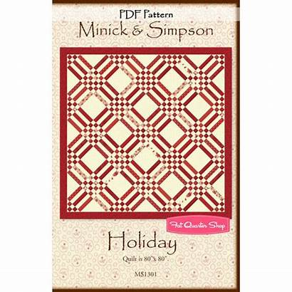 Quilt Pdf Downloadable Pattern Simpson Minick Holiday