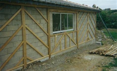 cuisine facade bois colombage extérieur sdlm