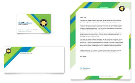 tennis club camp business card letterhead template