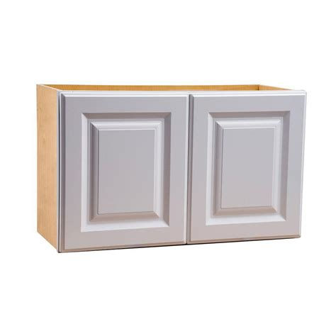 Hton Bay Cabinet Door Replacement by Hton Bay Assembled 30x15x12 In Shaker Wall Bridge
