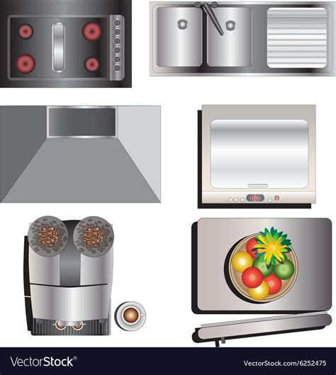 Kitchen Top Images kitchen top view vector kitchen appliances tips and review