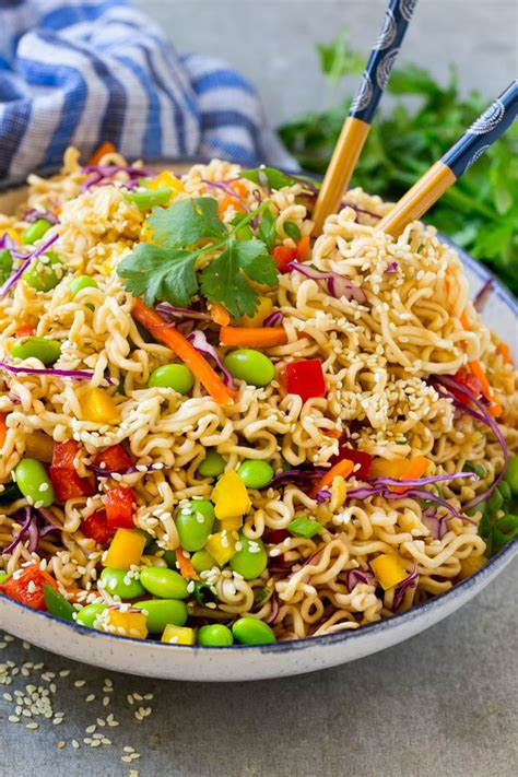 easy noodle salad asian noodle salad dinner at the zoo