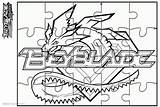 Beyblade Burst Coloring Pages Puzzle Activity Printable Adults Bettercoloring sketch template