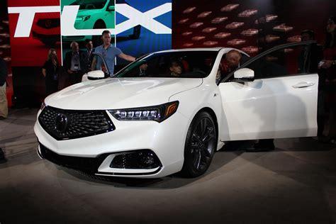 acura tlx  unveiled     york auto