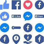 Icons Messenger Icon Svg Ai Transparent Button