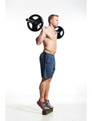 barbell calf raise video  proper form  tips  muscle fitness