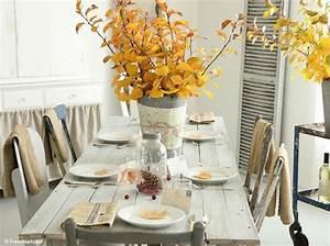 Ides De Dcoration De Table D39automne