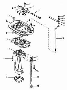 Mercury Marine 60 Hp  3 Cylinder  Exhaust Plate Parts