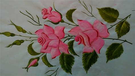 How To Paint Beautiful Rose Flower-for Beginners-easy