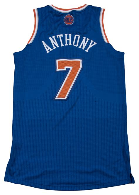 lot detail   carmelo anthony game   york