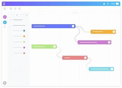 Gantt Chart Visual Project Clickup Management Software