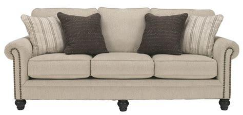milari linen sofa loveseat milari linen sofa by signature design by