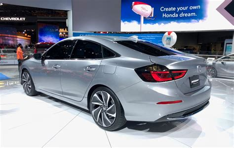 2019 Honda Insight Shows Off Its Stylish Duds In Detroit