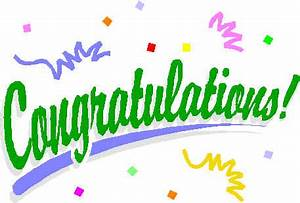 Congratulations on promotion clip art - Cliparting.com
